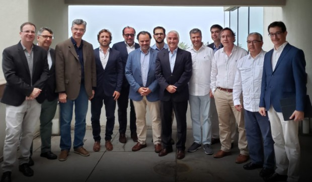 Representatives of the Ibero-American Associations in Rio de Janeiro, Nov 10, 2019